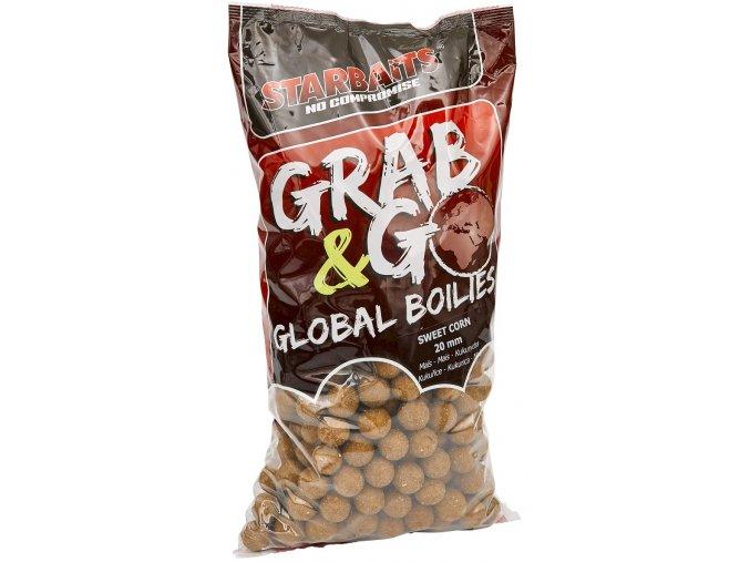 Global boilies SWEET CORN 20mm 2,5kg  Slevněte si produkt na 260,10 Kč za pouhou registraci na webu