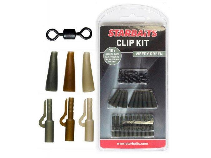 Clip Kit Set závěs na olovo (10ks) hnědá  + 10% sleva platná ihned po registraci pro všechny