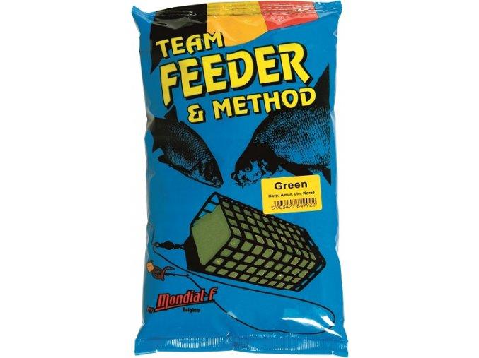 Krmení Method & Feeder GREEN 1kg  + 10% sleva platná ihned po registraci pro všechny