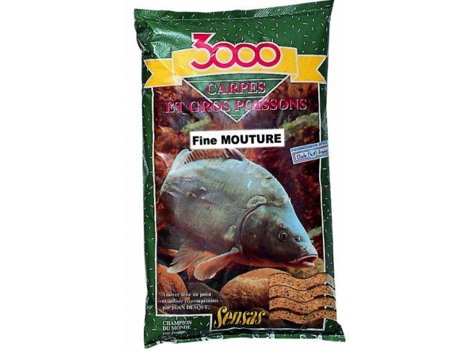 Krmení 3000 Carpes Fine Mouture (kapr-jemný) 1kg  + 10% sleva platná ihned po registraci pro všechny