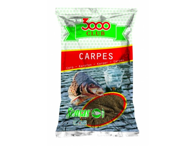 Krmení 3000 Club Carpes Jaune (kapr žlutý) 1kg