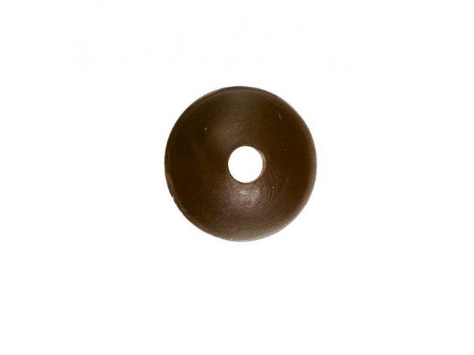 Rubber Shock Beads 6mm hnědá (gumová kulička) 25ks  + 10% sleva platná ihned po registraci pro všechny