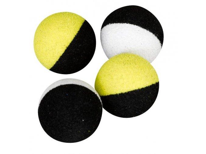 Two Tones Balls 14mm černá/bílá (plovoucí kulička) 6ks