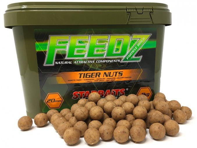 FEEDZ Boilies TIGERNUT 20mm 4kg  + 10% sleva platná ihned po registraci pro všechny