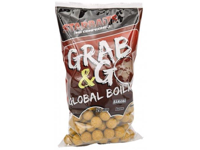 Global boilies BANANA CREAM 20mm 1kg  + 10% sleva platná ihned po registraci pro všechny