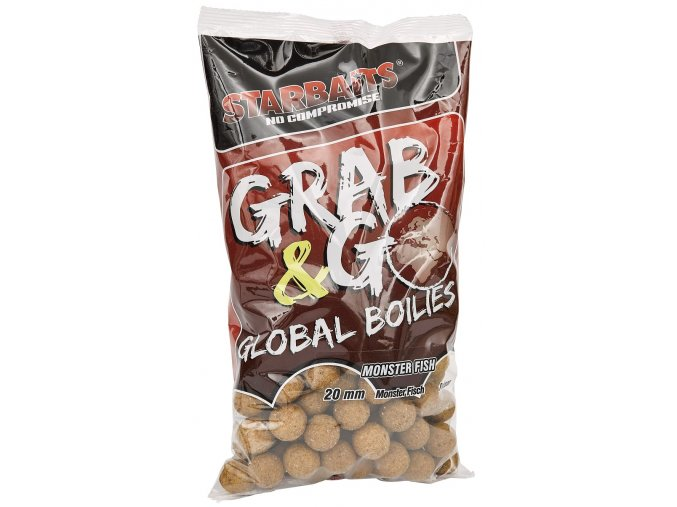 Global boilies MEGA FISH 20mm 1kg