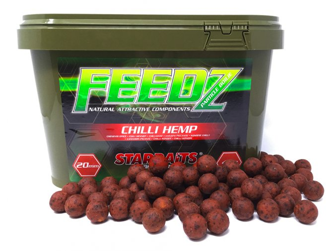 FEEDZ Boilies CHILI HEMP 20mm 4kg  + 10% sleva platná ihned po registraci pro všechny
