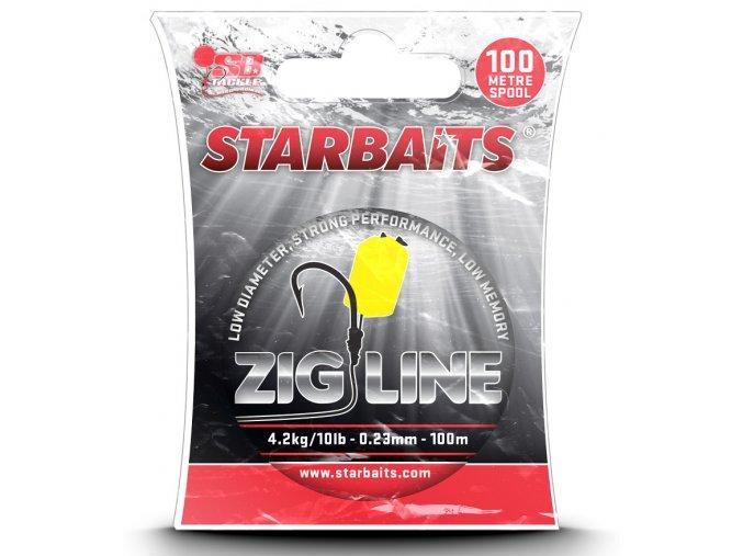 Vlasec ZIG LINE 0,23mm 100m (4,2kg)