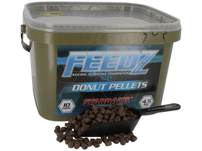 Feedz Donuts (pelety s dírou) 10mm 4,5kg  Slevněte si produkt na 449,10 Kč za pouhou registraci na webu