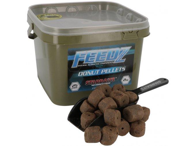 Feedz Donuts pelety s dírou 25mm 2kg  Slevněte si produkt na 251,10 Kč za pouhou registraci na webu