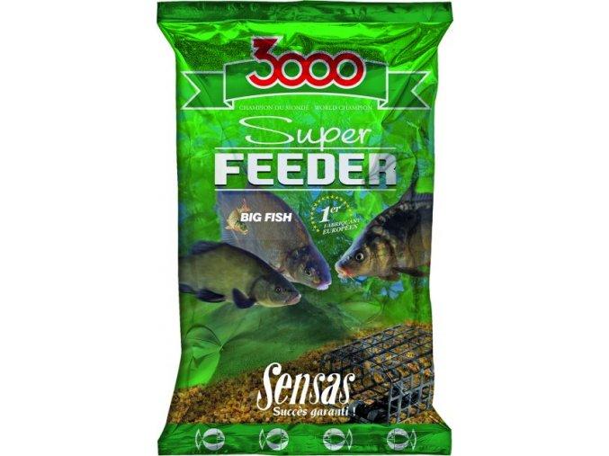Krmení 3000 Super Feeder Big Fish 1kg  + 10% sleva platná ihned po registraci pro všechny
