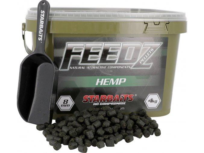 FEEDZ Pelety HEMP 8mm 4kg