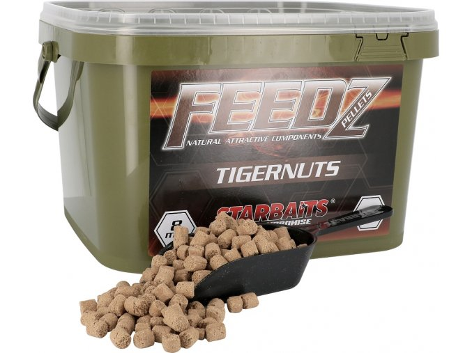 FEEDZ Pelety TIGERNUT 8mm 4kg  Slevněte si produkt na 409,50 Kč za pouhou registraci na webu