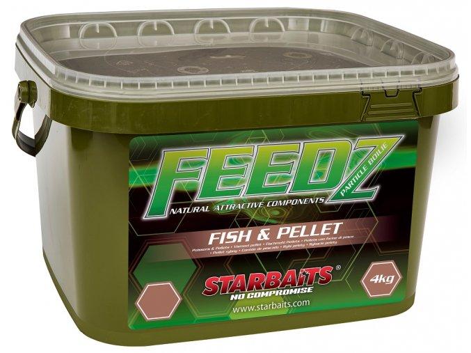 FEEDZ Boilies FISH & PELLETS 14mm 4kg  + 10% sleva platná ihned po registraci pro všechny