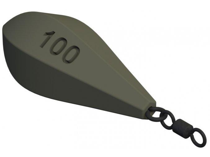 Torpedo s očkem a obratlíkem 50g