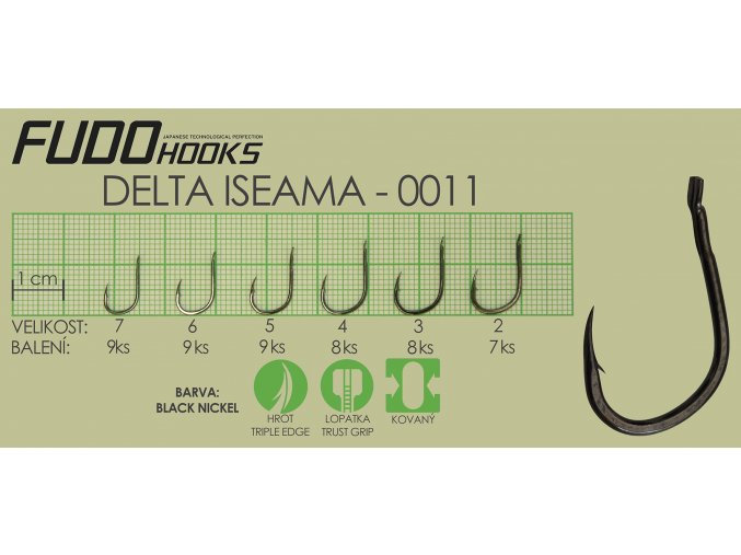 Fudo Delta Iseama 4 (bal.8ks)