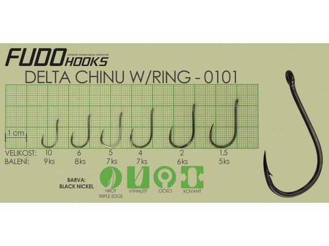 Fudo Delta Chinu Ringed 1,5 (bal.5ks)  + 10% sleva platná ihned po registraci pro všechny