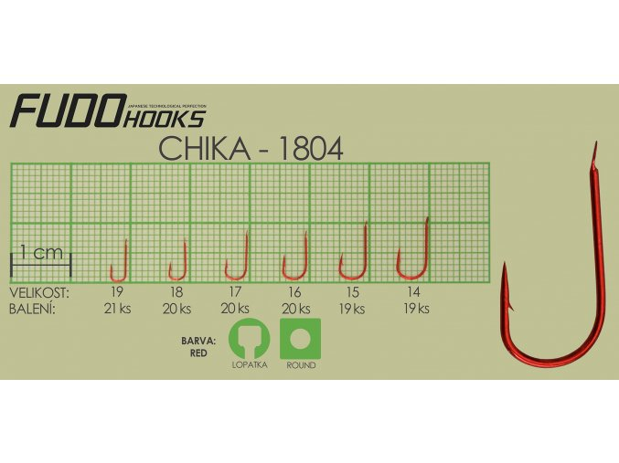 Fudo Chika 15 (bal.19ks)  + 10% sleva platná ihned po registraci pro všechny