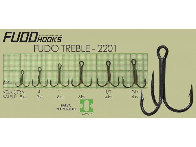 Fudo Treble 1 (bal.5ks)  + 10% sleva platná ihned po registraci pro všechny