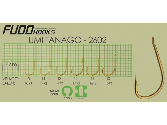 Fudo Umi Tanago 14 (bal.17ks)  + 10% sleva platná ihned po registraci pro všechny
