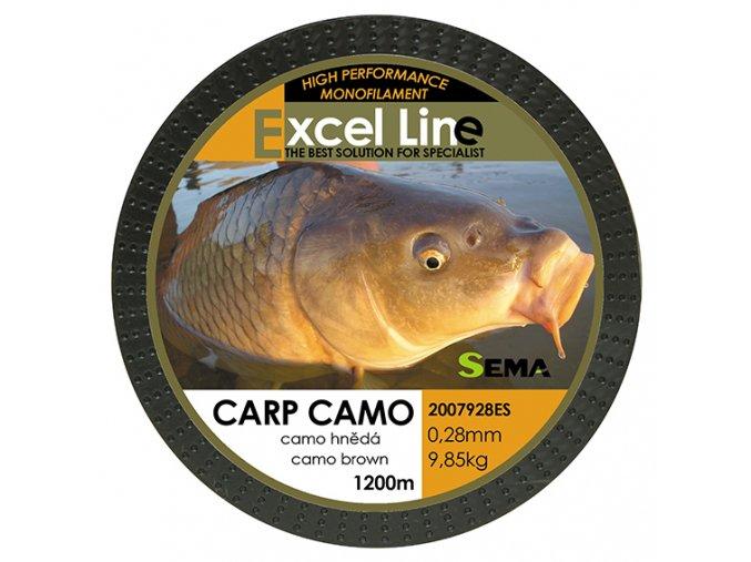 Carp camo hnědá 0,28  + 10% sleva platná ihned po registraci pro všechny