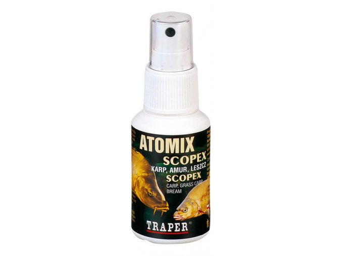 Sprej Atomix Scopex 50ml  + 10% sleva platná ihned po registraci pro všechny