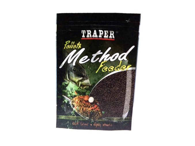 TRAPER METHOD FEEDER PELETY JAHODA 4 mm / 500 g  + 10% sleva platná ihned po registraci pro všechny