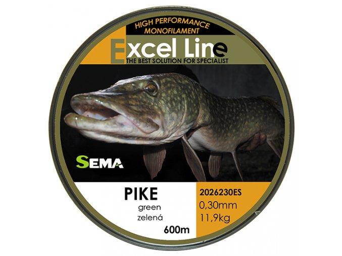 Pike zelená 0,28  + 10% sleva platná ihned po registraci pro všechny