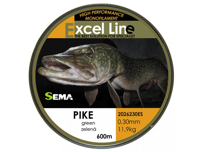 Pike zelená 0,33  + 10% sleva platná ihned po registraci pro všechny