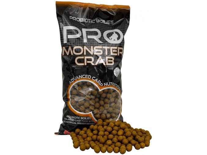 Pro Monster Crab - Boilie potápivé 2,5kg  14mm  Slevněte si produkt na 656,10 Kč za pouhou registraci na webu
