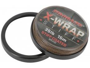 Šňůra X WRAP STIFF COATED 25LB 15m