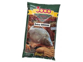 Krmení 3000 Carpes Extra Gros (kapr hrubý) 1kg  + 10% sleva platná ihned po registraci pro všechny