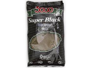 Krmení 3000 Dark Salty Bremes (cejn-černý-slaný) 1kg  + 10% sleva platná ihned po registraci pro všechny