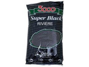 Krmení 3000 Super Black (Řeka-černý) 1kg
