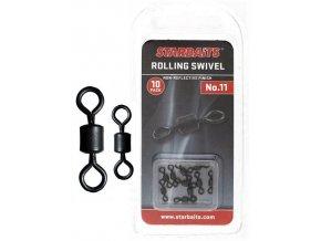 Obratlík - Rolling Swivel č.11 (10ks)  + 10% sleva platná ihned po registraci pro všechny