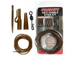 Anti Tangle Stick Kit hnědá (montáž)  + 10% sleva platná ihned po registraci pro všechny