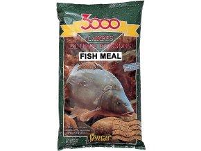 Krmení 3000 Carpes Fish Meal (kapr rybí moučka) 1kg