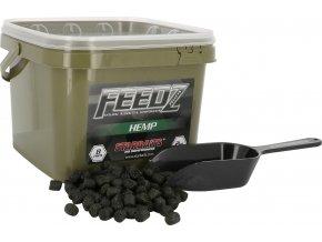 FEEDZ Pelety HEMP 8mm 2kg  + 10% sleva platná ihned po registraci pro všechny