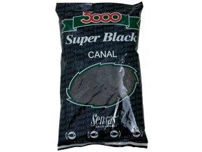 Krmení 3000 Super Black (kanál-černé) 1kg