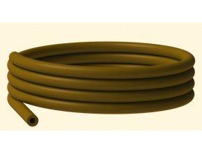 Silikonová hadička hnědá (1,5m)  + 10% sleva platná ihned po registraci pro všechny