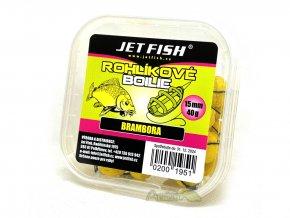 jet fish rohlikove boilie 40 g 15 mm10