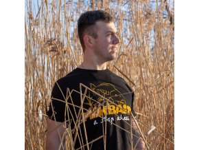 Mikbaits oblečení - Tričko Mikbaits černé L