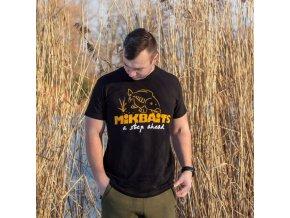 Mikbaits oblečení - Tričko Mikbaits černé XXXL