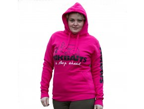 Mikbaits oblečení - Mikina Ladies team růžová S