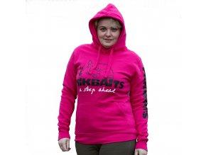 Mikbaits oblečení - Mikina Ladies team růžová M  + 10% sleva platná ihned po registraci pro všechny