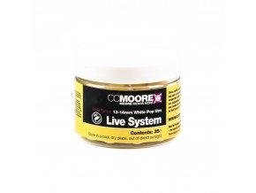 CC Moore Live system - Plovoucí boilie bílé 13/14mm 35ks  + 10% sleva platná ihned po registraci pro všechny
