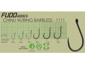 Fudo Chinu Ringed Barbless 8 (bal.16ks)