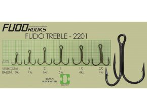 Fudo Treble 2/0 (bal.4ks)  + 10% sleva platná ihned po registraci pro všechny