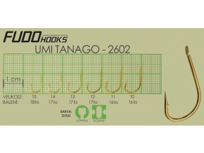 Fudo Umi Tanago 12 (bal.17ks)  + 10% sleva platná ihned po registraci pro všechny