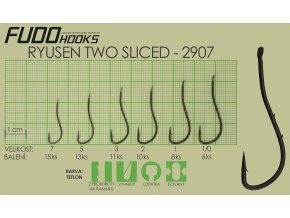 Fudo Ryusen Two Sliced 1/0 (bal.6ks)  + 10% sleva platná ihned po registraci pro všechny